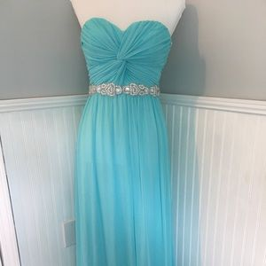 Teal Cocktail or Prom Dress or Evening
